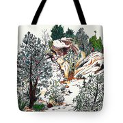 Red Rock Children's Discovery Tote Bag