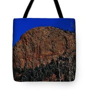 Red Rock Cliff Tote Bag