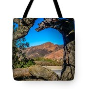 Red Rock Cliffs Tote Bag