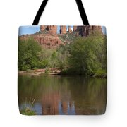 Red Rock Crossing In Sedona Tote Bag by Sandra Bronstein
