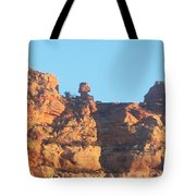 Red Rock Easter Island Tote Bag