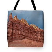 Red Rock Formation Tote Bag