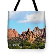 Red Rock Formations Tote Bag