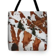 Red Rock Greenery Tote Bag