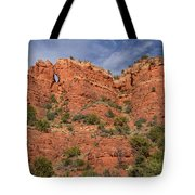 Red Rock Keyhole Tote Bag