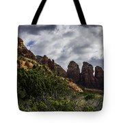 Red Rock Landscape From Sedona Arizona Tote Bag
