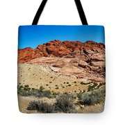 Red Rock Mountain Tote Bag