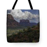 Red Rock Of Sedona Arizona Tote Bag