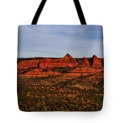 Red Rock Peaks 23 Tote Bag