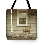 Red Rocker Quote Tote Bag