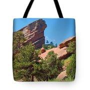 Red Rocks Landscape Tote Bag