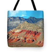 Red Rocks Nevada Tote Bag