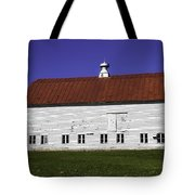 Red Roof Barn Vermont Tote Bag