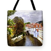 Red Roofs Of Prague - 2015 Tote Bag