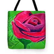 Red Rose 2 Tote Bag