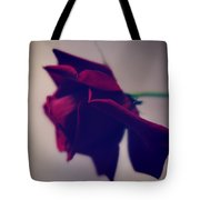 Red Rose Abstract 1 Tote Bag