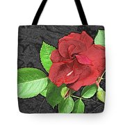 Red Rose For My Lady Tote Bag