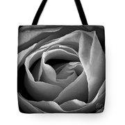 Red Rose In Infrared Tote Bag