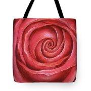 Red Rose Pastel Painting Tote Bag