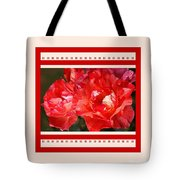 Red Rose With A Whisper Of Yellow And Design Tote Bag