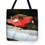 Red Rosella Tote Bag