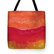 Red Saddle Original Painting Tote Bag