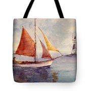 Red Sail... Tote Bag