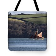 Red Sails In Carrick Roads Tote Bag