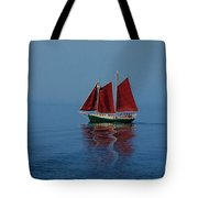 Red Sails On Superior Tote Bag
