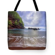 Red Sand Tote Bag