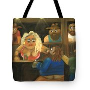 Red Says The Wrong Thing Tote Bag