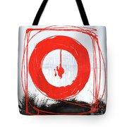 Red Scream Tote Bag