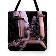 Red Sculpture Tote Bag