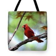 Red Sentry Tote Bag
