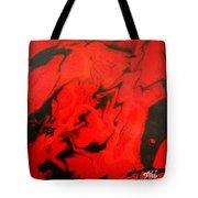 Red Series No. 1 Tote Bag