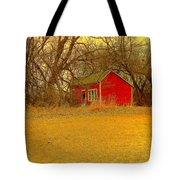 Red Shack Tote Bag