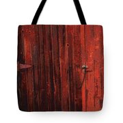 Red Shed Tote Bag