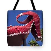 Red Shoe High Heels Tote Bag