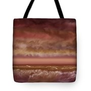 Red Sky At Night Sailor Delight Tote Bag