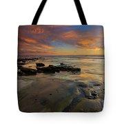 Red Sky California Tote Bag