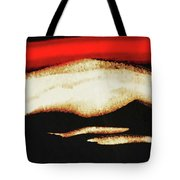 Red Sky In The Morning Tote Bag