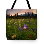 Red Sky Meadow Tote Bag