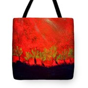 Red Sky Tote Bag