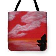 Red Sky1 Tote Bag