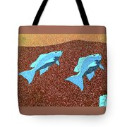 Red Snapper Inlay Sunny Day Invert Tote Bag