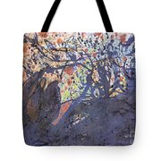 red snow, 19 March 2015 Tote Bag