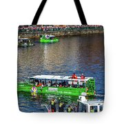 Red Sox On The Charles Tote Bag