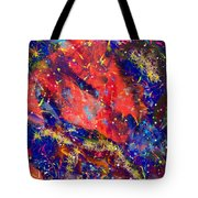 Red Space 15-13 Tote Bag