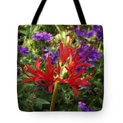 Red Spider Lily Tote Bag