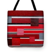 Red Square Tote Bag
